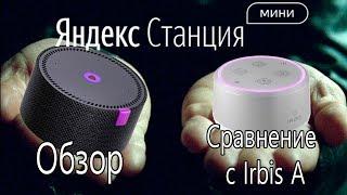 яндекс Станция Мини vs Irbis A. Обзор и сравнение. Розыгрыш