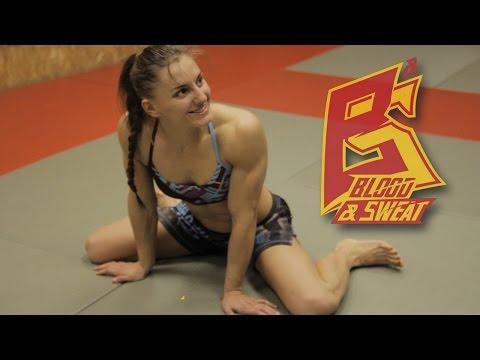"""Александра Албу: """"Успеваю работать и тренироваться дважды в день"""" Alexandra Albu about UFC debut"""