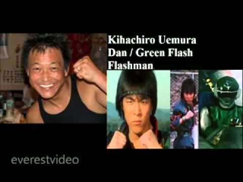 Jaspion - Changeman - Jiraya - Flashman - Cybercops etc... Como eles estão? Confira!