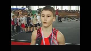 Родион Ганжела занял первое место по спортивной гимнастике