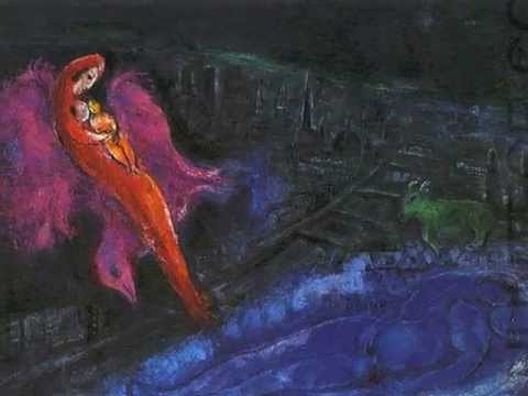 """Marc Chagall: Paintings accompanied by Cerys Matthews """"Myfanwy"""""""