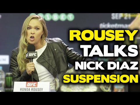 Ronda Rousey Made a Very Sexual Slip-Up During the UFC 193 Press Conference