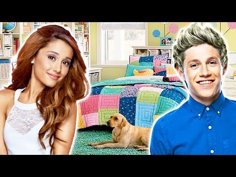 Teen Celebrity Home Tours & Bedroom Decorating Ideas!