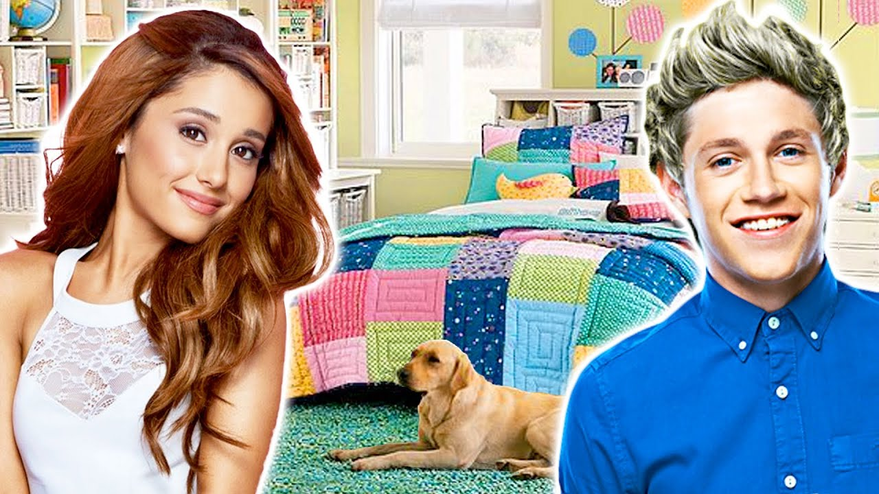 Teen Celebrity Home Tours  Bedroom Decorating Ideas