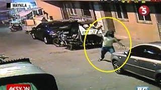 Sapul sa CCTV | Pagbaril sa 17-anyos na namato ng sasakyan sa Maynila thumbnail