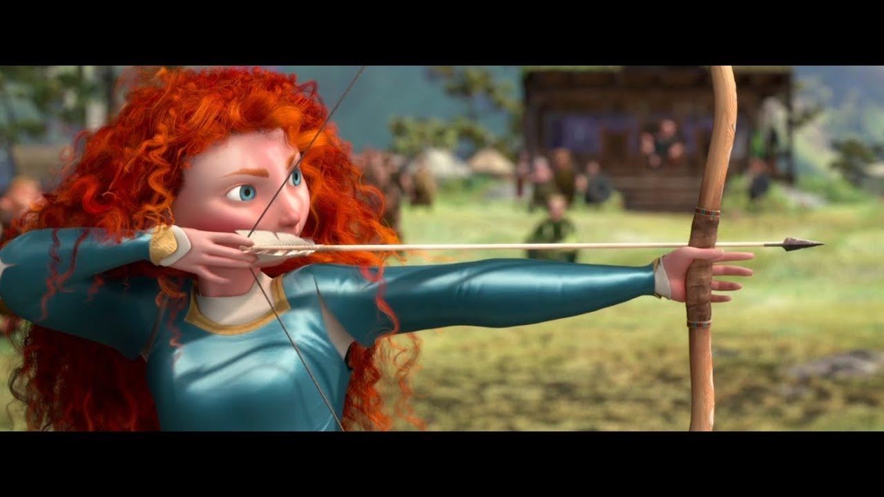 Image result for brave film archery