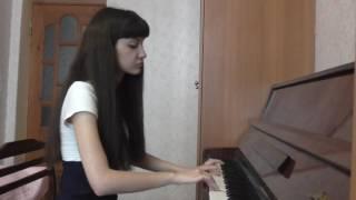 Nightwish - Sleeping Sun (piano cover by Diana)