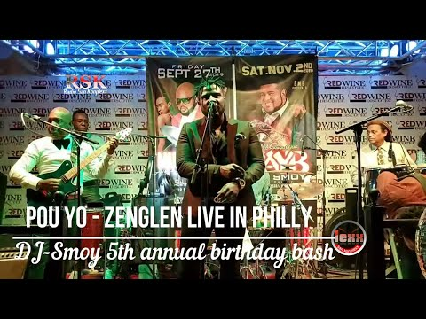 POU YO - ZENGLEN LIVE @ REDWINE IN PHILLY 08 17 2019 LEXX SAN KONPLEXX