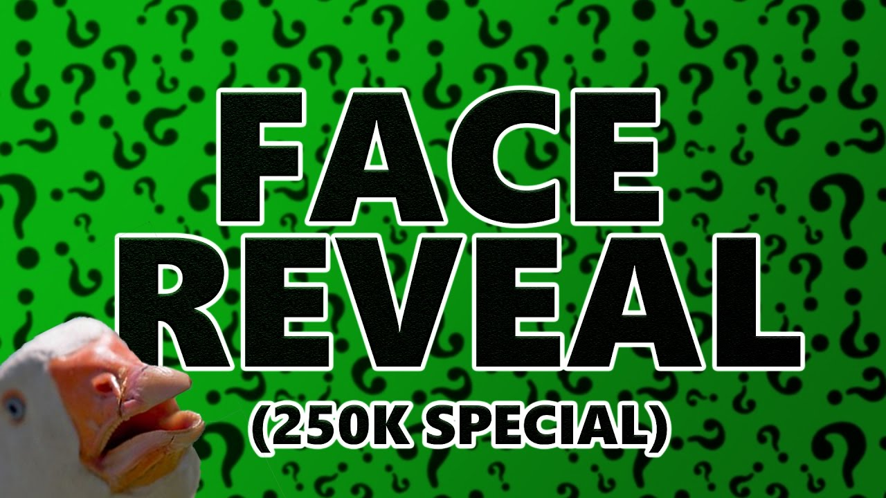 Face Reveal 250k Special Youtube