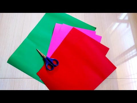 Christmas Ornaments | How to make Paper Star | DIY Crafts| Christmas Decoration