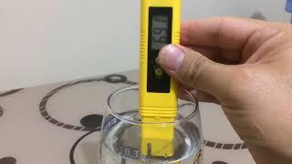 Reeflowers salt african kullanımı pH ve tds e etkileri