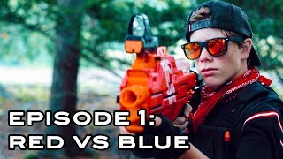 ELITE NERF STRIKE | Episode 1: Red Vs Blue (Nerf War Movie)