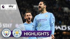 Gündogan bringt die Wende | Manchester City - Leicester City 3:1 | Highlights - Premier League