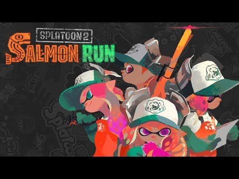 Splatoon 2 — Salmon Run Profreshional Livestream w/ Proxence