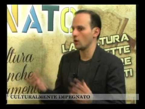 MANFREDONIA TV/Culturalmente Impegnato/Felice Sblendorio/ Tony di Corcia