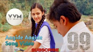 Aagide Aagide 99 Kannada Movie Song lyrics
