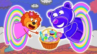 Lion Family Official Channel   Friends3 - Bear Again   Cartoon for Kids   Episode 18