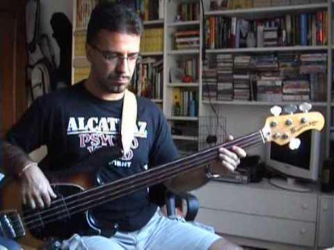 Murder - David Gilmour - Bassline - Tribute to Pino Palladino