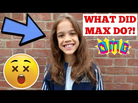 WHAT DID MAX DO?!😳 #92 VLOG