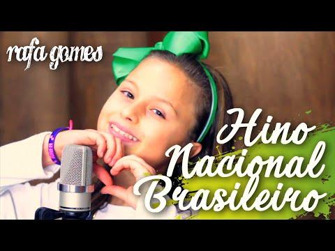 HINO NACIONAL - RAFA GOMES CANTA COM OS AMIGOS DO THE VOICE KIDS