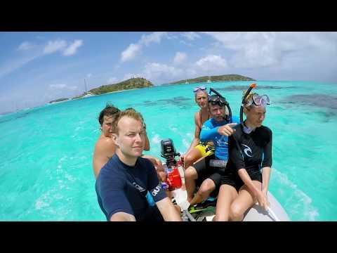 CARIBBEAN SAILING - WINDWARD ISLANDS ROUTE (1080p)