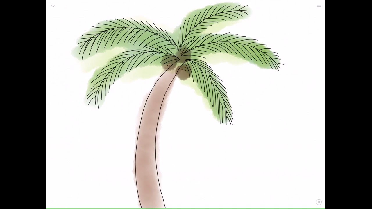 Uncategorized How To Draw A Palm how to draw a palm tree youtube tree