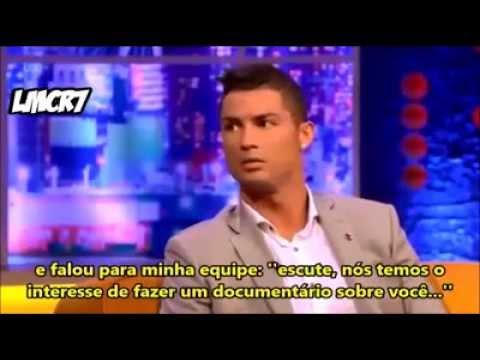 Cristiano Ronaldo surpreende em entrevista no The Jonathan Ross Show