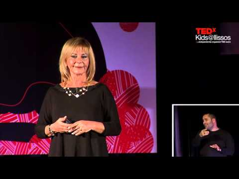 Being a mom and an entrepreneur | Xenia Kourtoglou | TEDxKid