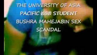 THE UNIVERSITY OF ASIA PACIFIC STUDENT SEX SCANDAL