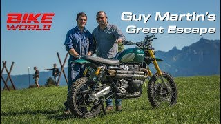Guy Martin's Great Escape - Behind The Scenes.
