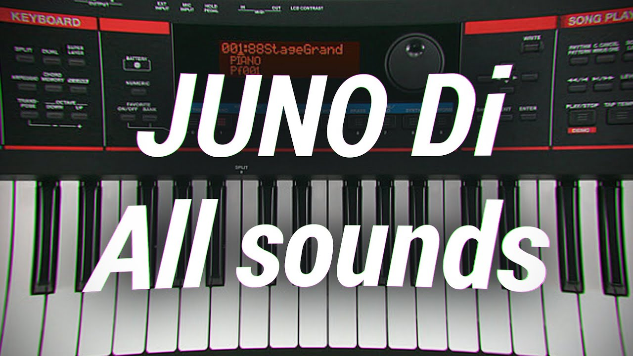 Roland Juno Di sounds patches SYNTH