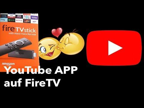 YouTube App auf Amazon Fire TV und Fire TV Stick installieren, Anleitung (Deutsch)