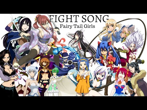 FAIRY TAIL GIRLS | Fight Song