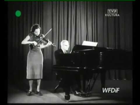 Bacewicz plays Bacewicz - Oberek (1952)