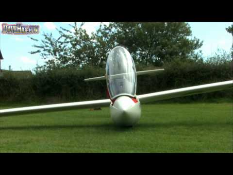 How to launch a glider - Winch tow