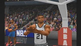 NBA Live 99 - Knicks vs Spurs PS1