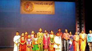 Tamil Thai Vazhthu by Chenchu Madhumitha and team