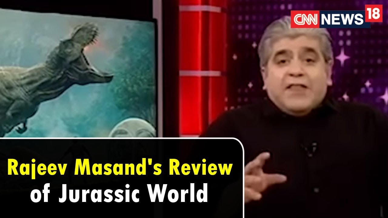Jurassic World Fallen Kingdom Review By Rajeev Masand | CNN News18