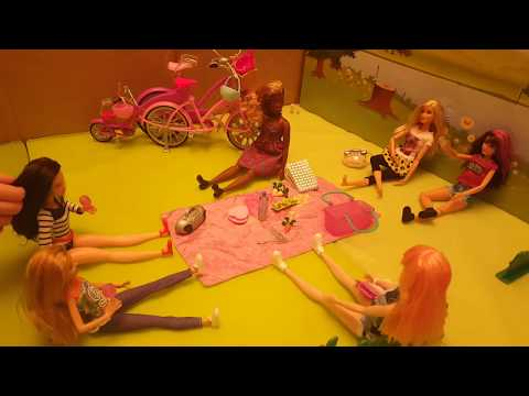 Barbie goes on a picnic  part 1