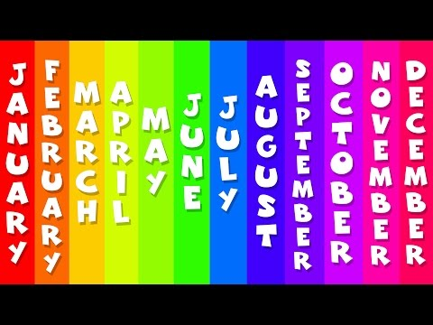 Months Of The Year | Songs For Kids | By Kids Baby Club