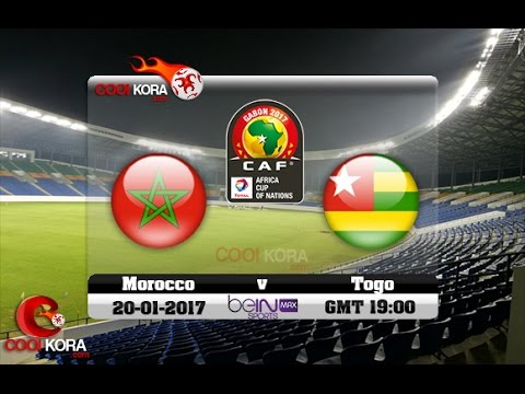 Morocco vs Togo  LIVE   (Commentaires)