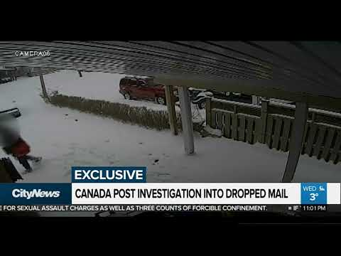 Canada Post Investigating Dropped Mail