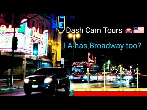 Dash Cam Tours🚘 LA has Broadway too
