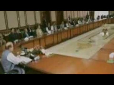Cabinet Meeting Held By Nawaz Sharif To Discuss Border Situation