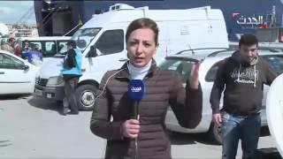 #الحدث مع #اللاجئين على ضفتي الموت نحو اوروبا