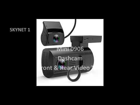 Mini 0906 Front & Rear Dash Cam Video Test September 28, 2017