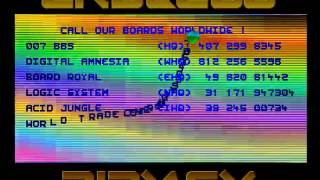 Amiga Cracktro : UMS II / Endless Piracy (1991) (HD 50 fps)