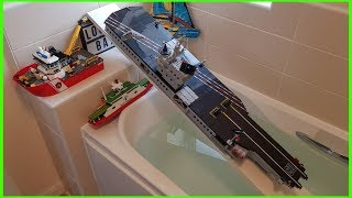 LEGO BOAT LAUNCH COMPILATION !!!