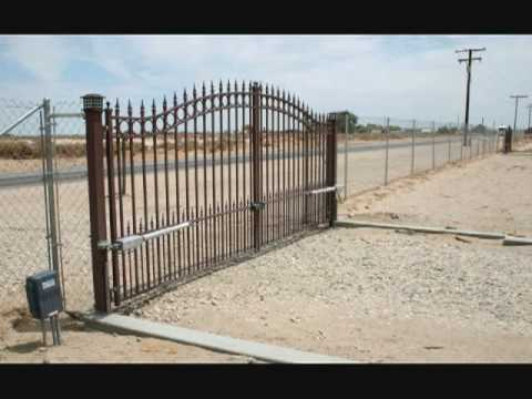 Dual Swing Gate Openers Youtube