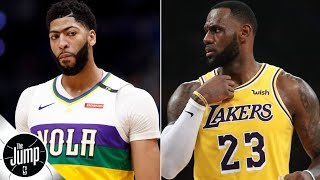'I've been told there's no way Anthony Davis' will be traded to Lakers - Marc J. Spears | The Jump